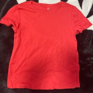 SO red baby tee